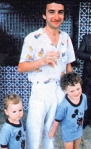 John Deacon Photo with children