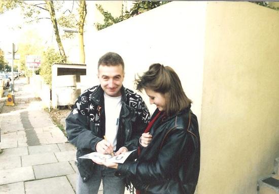 John Deacon with fan 004