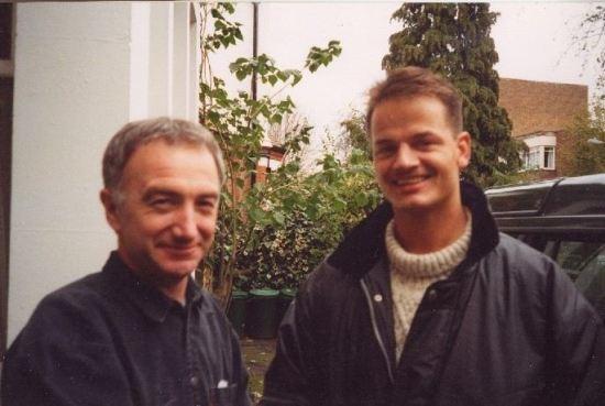 John Deacon with fan
