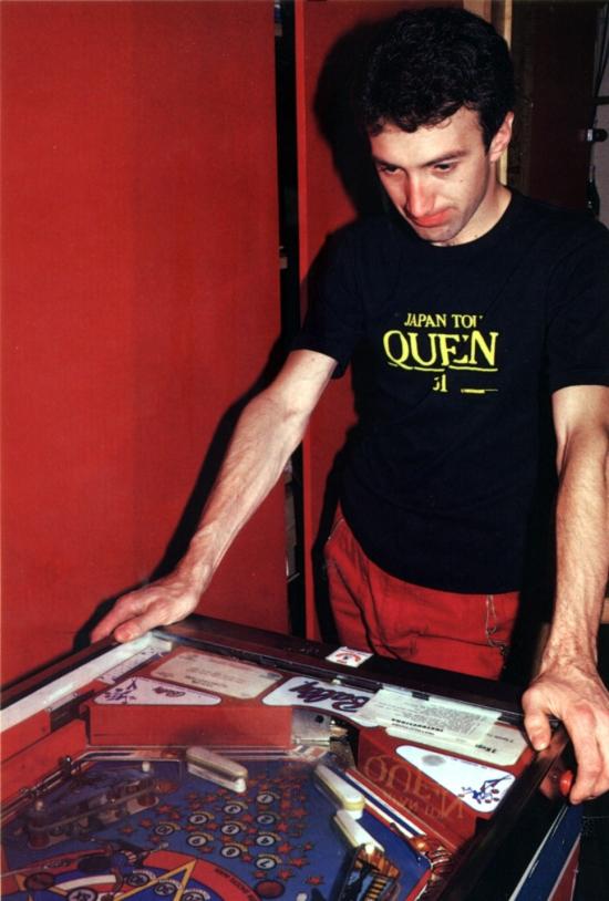 John playing game