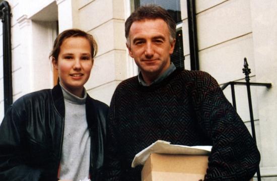 John with fan