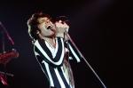 Freddie Mercury Of Queen Performs Live