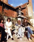 Queen at Ridge Farm. 1975