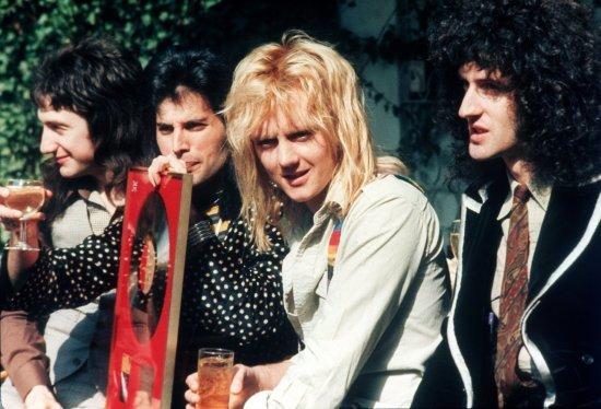 Britische Rockgruppe Queen