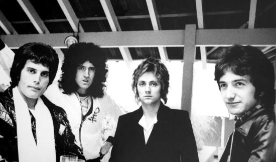Queen in 1978 (Photo by Chris Hopper) 002