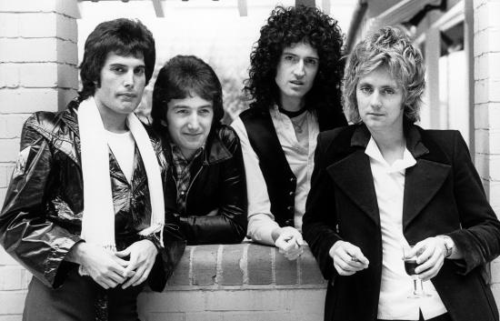 Queen in 1978 (Photo by Chris Hopper)