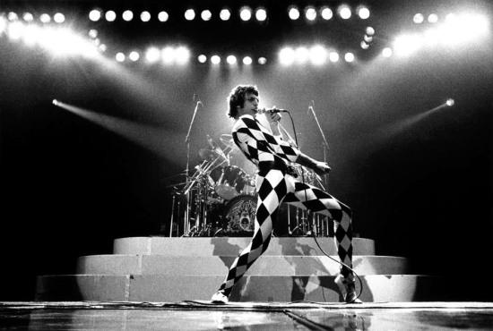 Freddie Mercury in Chicago, 1978