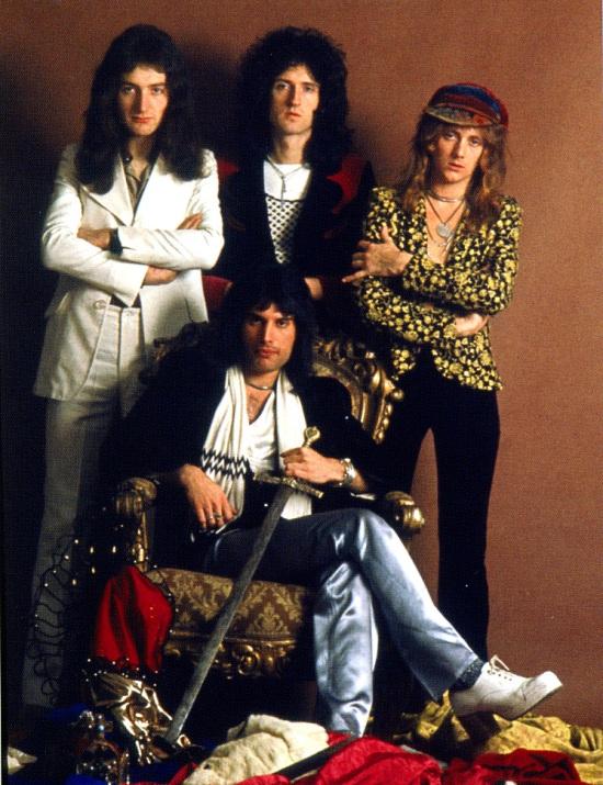 Queen in early 70's
