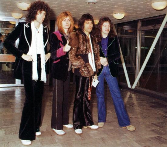 Queen in Japan, 1976