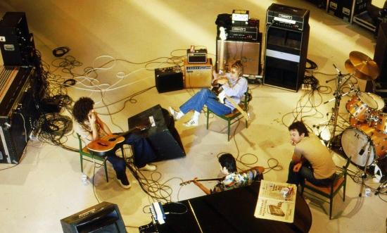 Queen in studio 1979