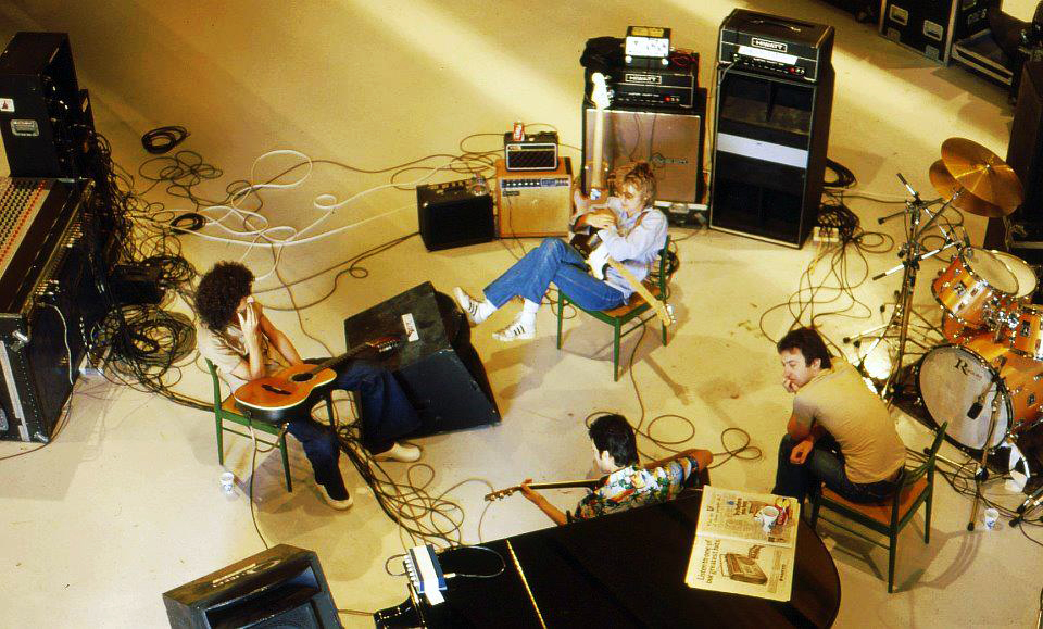 Queen in studio 1979