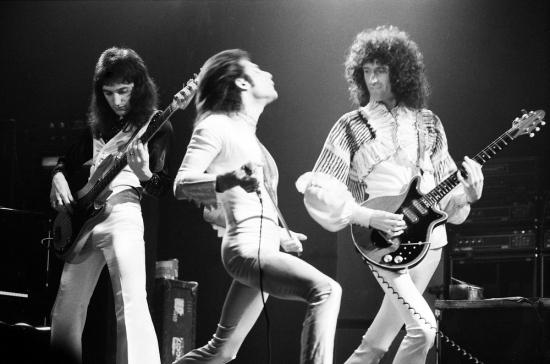 QUEEN,  LIVE 1976, NEIL ZLOZOWER.Photo Credit: NEIL ZLOZOWER/ATLASICONS.COM