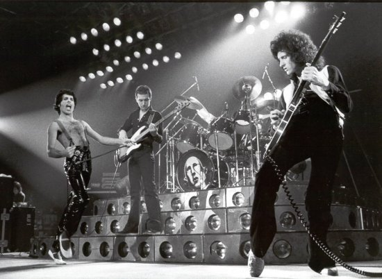 Queen na żywo w 1978 r.
