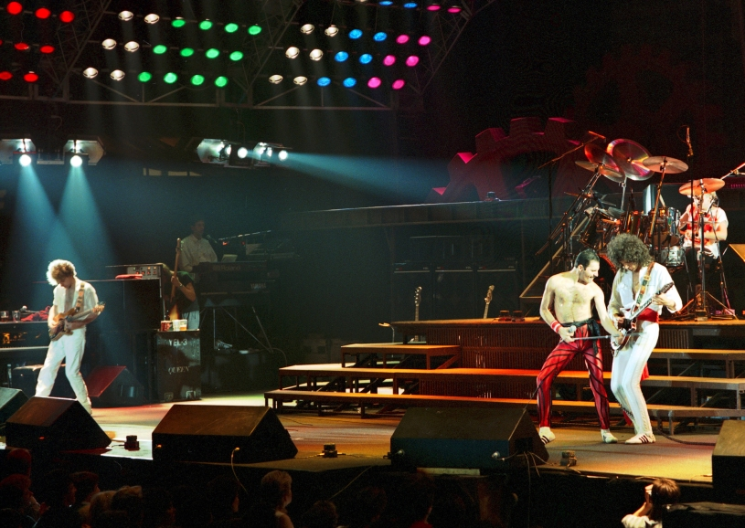 Wembley Arena, The Works Tour, 1984