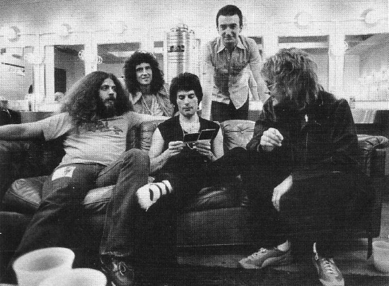 Queen with ... in 70's