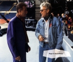 Roger Taylor and David Bowie