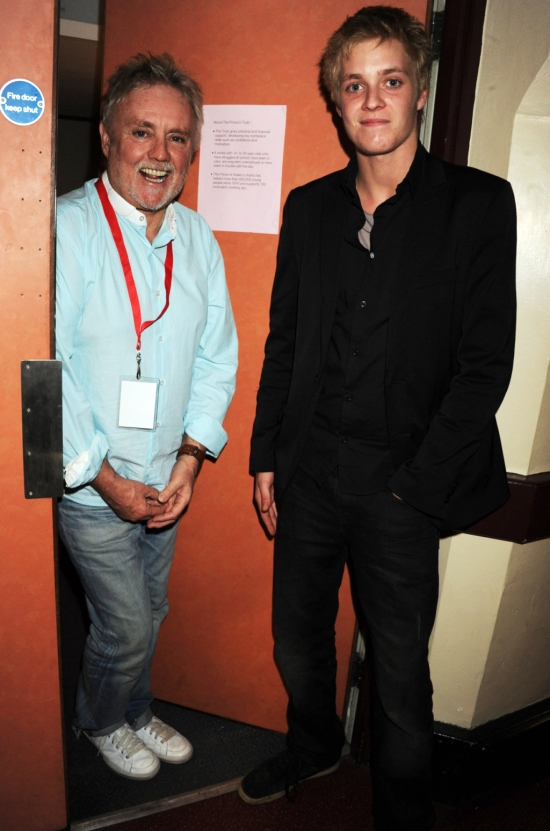 Roger Taylor and Rufus Taylor