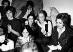 Roger Taylor at Harvey Kubernik's birthday party in Encino, 1977