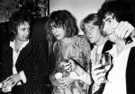 Roger Taylor at Harvey Kubernik's birthday party in Encino in 1977