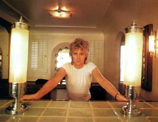 Roger Taylor in home