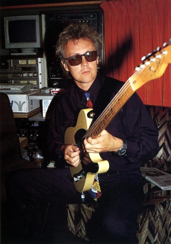 Roger Taylor in studio