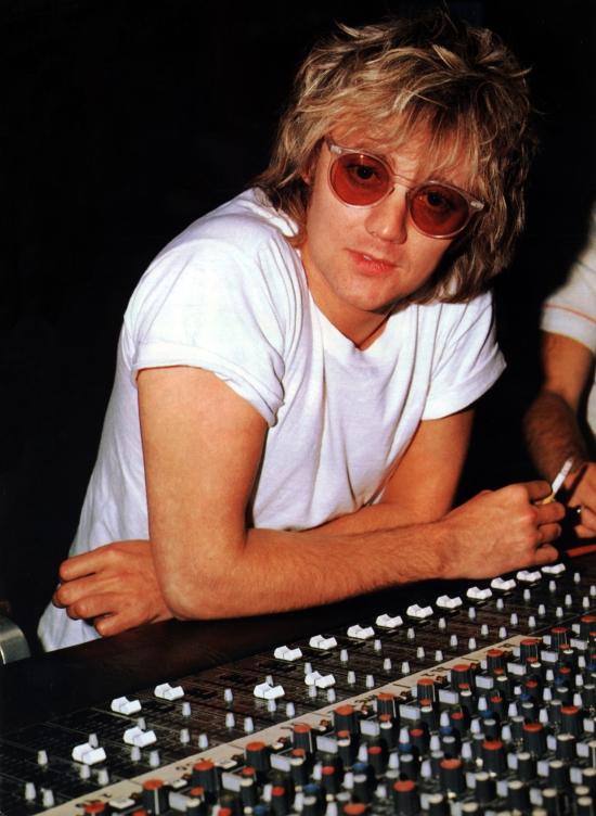 Roger Taylor w studio