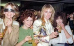 Roger Taylor with groupies
