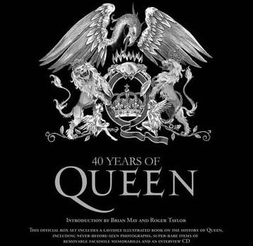 Queen 40 official book