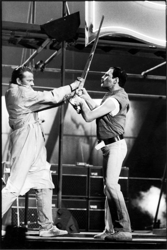 Christopher Lambert vs Freddie  Mercury