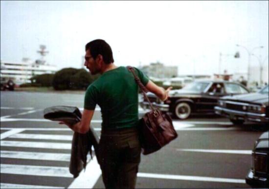 Freddie at airport