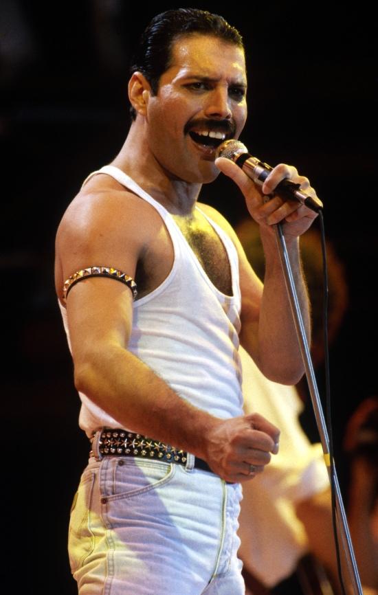 Freddie at Live Aid, 1985