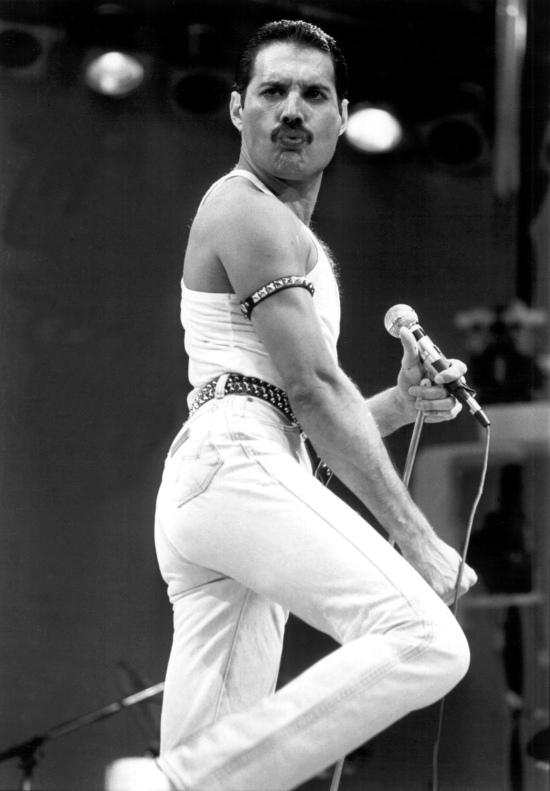 Freddie at Live Aid