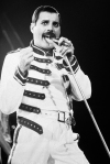 Freddie in Budapest '86