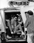 Freddie, Peter Freestone and Terry Giddings in Knebworth