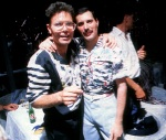 Freddie Mercury and Cliff Richard