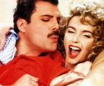 Freddie Mercury and Debbie Ash - Making  Of 'I Was Born To Love You'