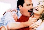 Freddie Mercury and Debbie Ash