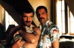 Freddie Mercury and Jim Hutton (1)
