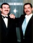 Freddie Mercury and Jim Hutton (3)