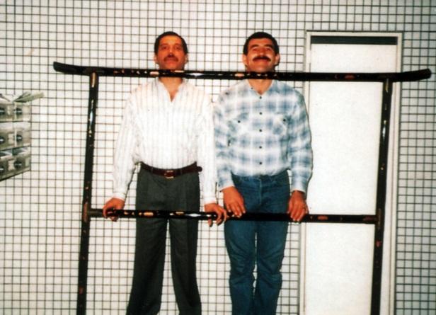 Freddie Mercury and Jim Hutton (5)