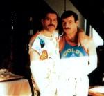Freddie Mercury and Jim Hutton (6)