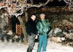Freddie Mercury and Jim Hutton in Garden Lodge