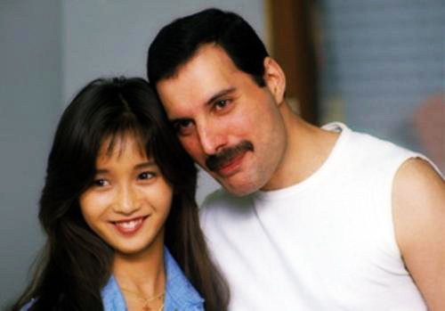 Freddie Mercury and Minako Honda