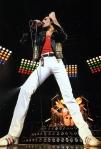 Freddie Mercury at Budokan Hall in Tokyo, Japan, 1981