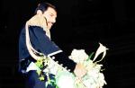 Freddie Mercury at Fashion Aid, 1985