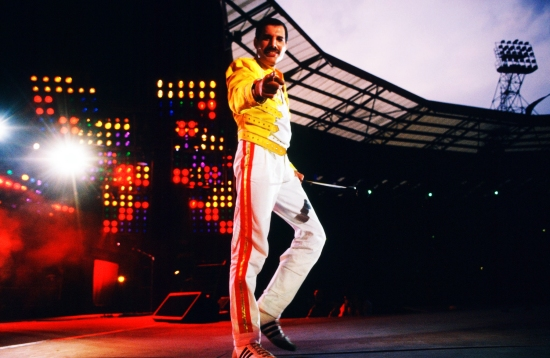 Freddie Mercury at Wembley '86
