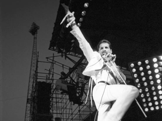 Freddie Mercury - Hot Space Tour (1)