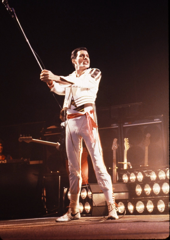 QUEEN,  LIVE 1982, NEIL ZLOZOWER.Photo Credit: NEIL ZLOZOWER/ATLASICONS.COM