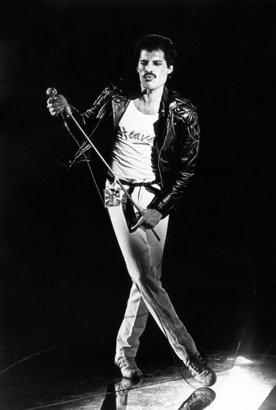 Freddie Mercury in 1981