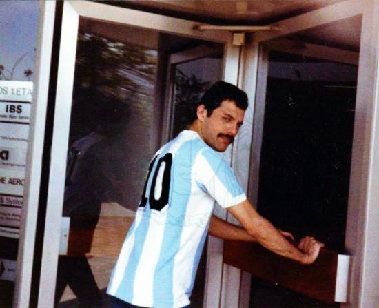 Freddie Mercury in Argentina